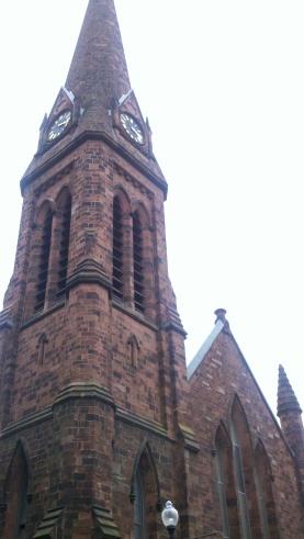 A beautiful church by my hotel