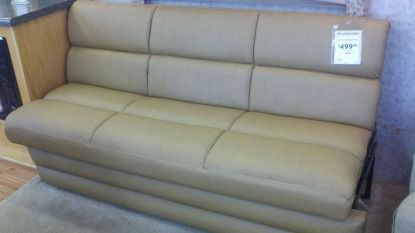 Fold-out couch but in white