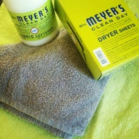 Mrs. Meyers Dryer Sheets~On the Cheap